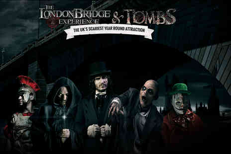 The London Bridge Experience - Adult or child ticket to The London Bridge Experience - Save 32%