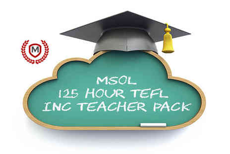 Manchester School of Languages - Online tefl course - Save 96%