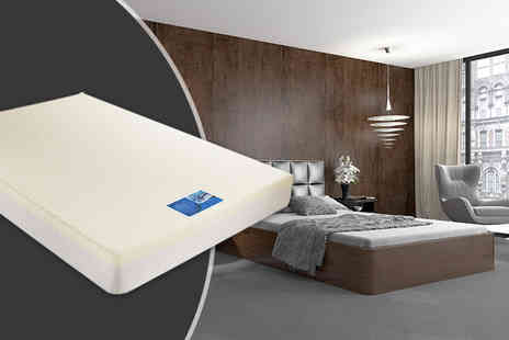 Giomani Designs - Double or king size visco and reflex memory foam mattress - Save 86%