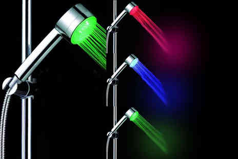 ViVo Technologies - LED colour changing shower head - Save 65%