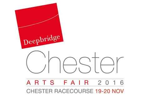 Chester Arts Fair - Two tickets or a family ticket to Chester Arts Fair on 19 and 20 November - Save 50%