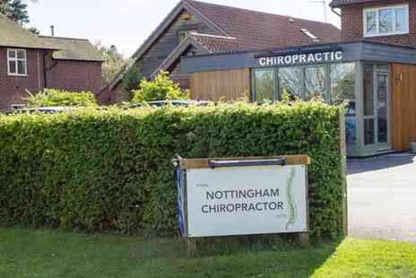 Nottingham Chiropractor - Chiropractic Exam and Treatment - Save 51%
