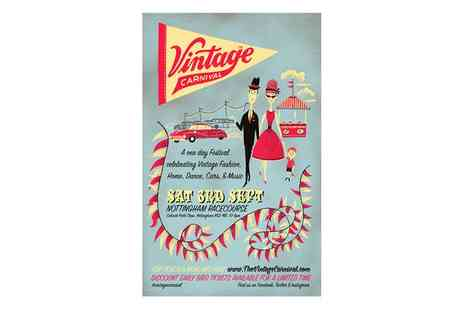 Vintage Carnival - Vintage Carnival on 3 September, Nottingham Racecourse - Save 0%
