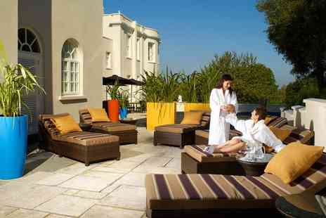 The Mount Somerset Hotel - Choice of Spa Treatment and Mini Cream Tea - Save 48%
