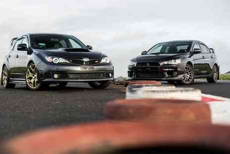 Drift Limits - Subaru vs Evo Experience for One or Two - Save 51%