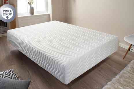 Groupon Goods Global GmbH - Pure Relief Memory Foam Mattress in Choice of Size With Free Delivery - Save 0%