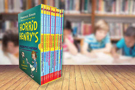 Price Cut Books - Horrid Henry Mischievous Mayhem 10 book collection - Save 73%