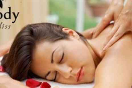 Body Bliss - One Hour Full Body Massage With Facial - Save 62%
