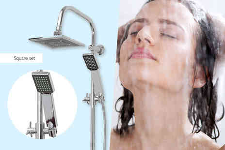 Easygift Trading - Shower set choose from a round or square design - Save 0%