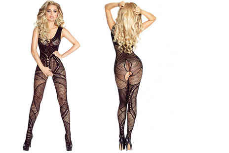 Who Runs the World - Crotchless body stocking - Save 68%