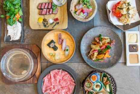 Tokimeite - Japanese Style Sunday Brunch with a Glass of Sparkling Sake for Two or Four - Save 57%