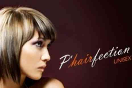 PHairfection - Full Head of Foils Plus Cut, Blow Dry and Conditioning Treatment - Save 63%