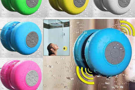Deal Champion Goods - Waterproof Wireless Bluetooth Speaker Choice of Colours - Save 0%