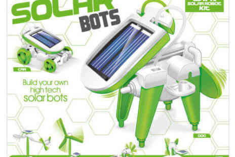 Deal Champion Goods - Six in One Solar Bots Robo Kit - Save 34%