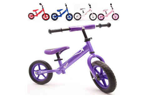 Deal Champion Goods - Kids Balance Bike With Choice of Four Colours - Save 0%
