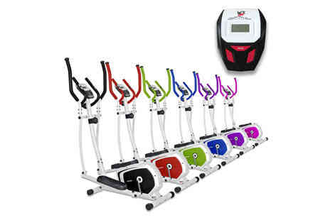 Deal Champion Goods - We R Sports Elliptical Cross Trainer & Exercise Bike Choose from Six Colours  - Save 0%