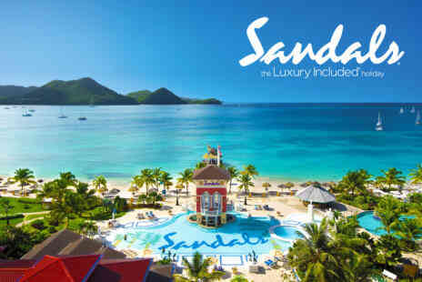 Sandals - Seven nights 5 Star All inclusive Sandals Stay with flights - Save 29%
