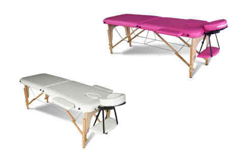 Deal Champion Goods - Portable Folding Massage Table Two Colours - Save 0%