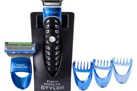 Deal Champion Goods - Gillette Fusion Proglide Three In One - Save 35%
