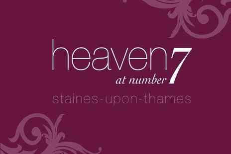 Heaven at number 7 - Eyebrow Wax and Tint - Save 50%