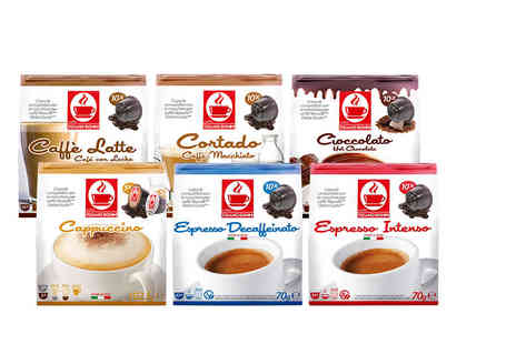 Storm Brew - Pack of 50 Dolce Gusto compatible coffee capsule pods choose from seven tasty and stimulating varieties - Save 0%