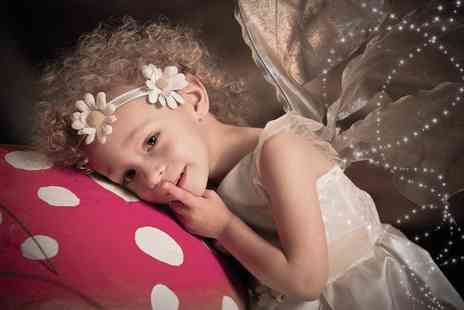 The Click Group - Fairy and elf photoshoot including two prints and two £50 vouchers - Save 92%