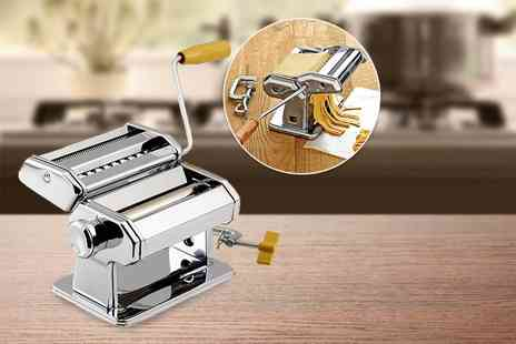 E4Emporium - Stainless steel professional three in one pasta maker - Save 71%