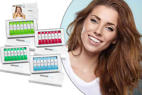 Oshun White - 56 oil pulling sachets for teeth whitening - Save 62%