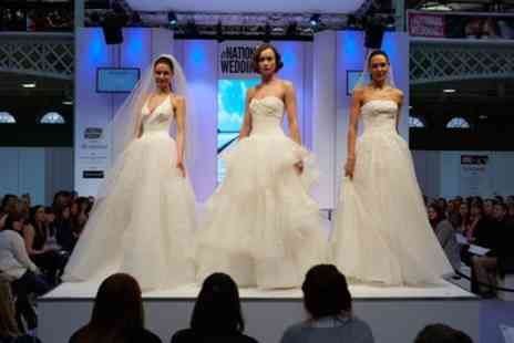 National Wedding Show - The National Wedding Show on 30 September To 2 October - Save 47%