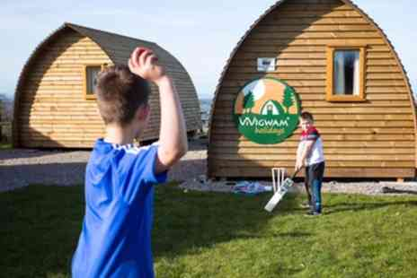 Bristol View Glamping - Two Nights Stay in Luxury Wigwam for Up to Four - Save 0%