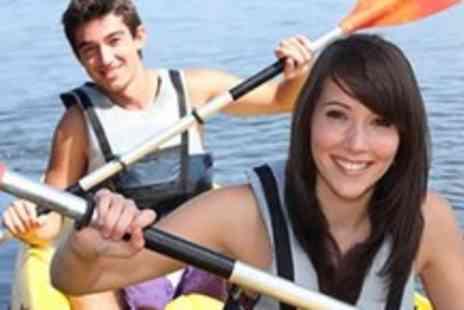 Go Country - A full days canoeing experience beginning with instructor training for up to 3 people - Save 51%