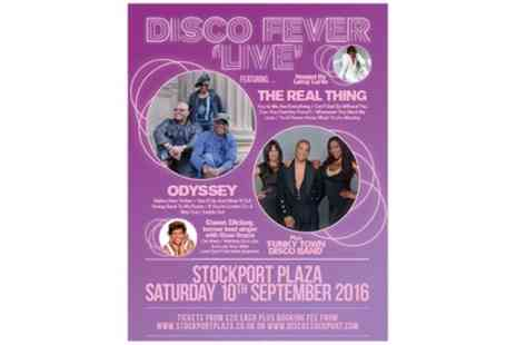 Shout Media - Disco Fever Live on 10 September at 7.30 p.m. - Save 52%