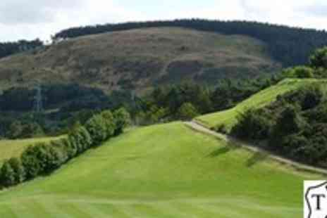 Torphin Hill Golf Club - Day of golf for two with soup and roll each - Save 61%