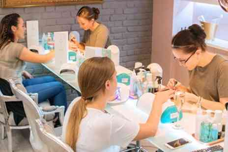 The Beauty Temple - Facial or Mani, Bubbly & More - Save 68%