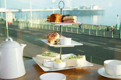 Thistle Brighton -Enjoy a sea view afternoon tea for two includes a selection of sandwiches & homemade cakes - Save 58%