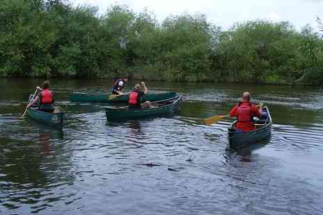 Way2Go Adventures - Half Day River Wye Guided Trip Canoeing for One or Two - Save 49%