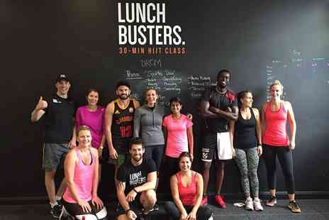 Chris Heron - Lunch Buster HIIT Workout Taster Session for One or Two or Three or Five Sessions - Save 0%