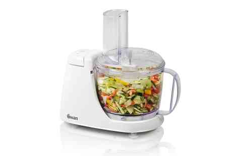 Groupon Goods Global GmbH - 250W Swan Food Processor - Save 0%