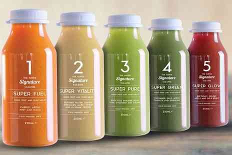supereleven.com - Super Eleven Signature Cold Pressed Juice Diet Plan 3 Days or 5 Days With Free Delivery - Save 0%