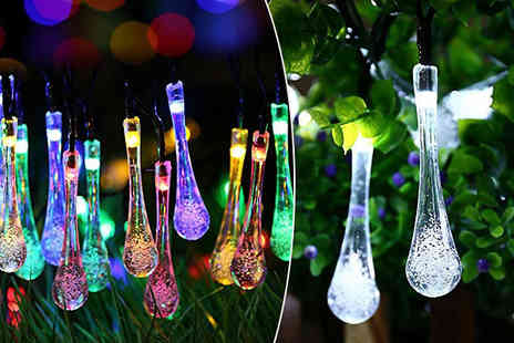 Gift box bristol - Solar Raindrop Fairy Lights - Save 63%