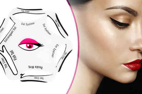 Gift box bristol - Perfect Eyeliner Stencil with 6 Designs - Save 88%