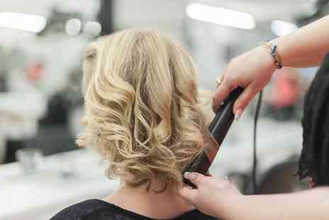 Parees Hair Studio - Full Head Colour with Blow Dry for Curly Hair - Save 0%