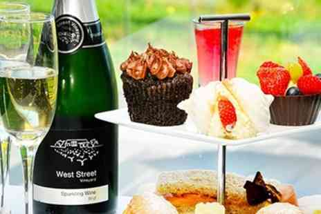 West Street Vineyard - Afternoon Tea & Wine Tasting for 2 - Save 44%