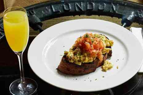 The Captain Cook - Two course bottomless brunch for two - Save 68%