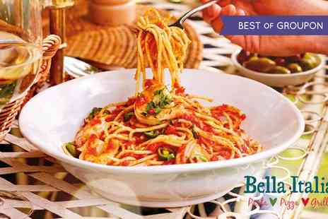 Bella Italia Head Office - Two or Three Course Meal with Drinks for Up to Six - Save 52%