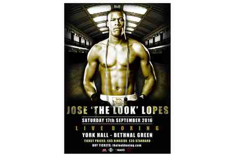 Lopes Boxing - Ticket to Lethal Combination Boxing Night on 17 September - Save 47%
