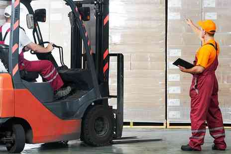 Forklift Training - Forklift Driving Course with Certification for One or Two - Save 42%