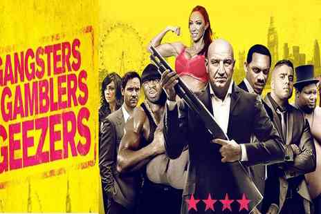 Jaffa Film Entertainment - Gangsters, Gamblers and Geezers Prepremiere on 20 September at 6 p.m. - Save 56%
