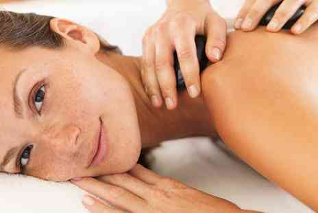 Butterfly Beauty - Hot Stone or Swedish Back, Neck and Shoulder Massage and Express Facial - Save 62%