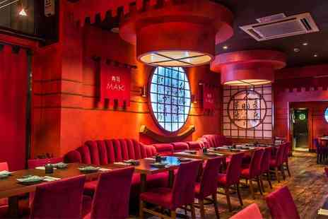 Maki - Two Course Lunch or Dinner for Two - Save 57%